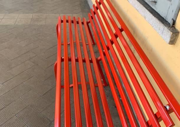 panchina rossa Besnate