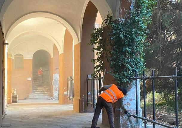Ex Caserma Garibaldi, si comincia a lavorare