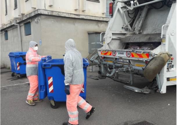 raccolta rifiuti covid