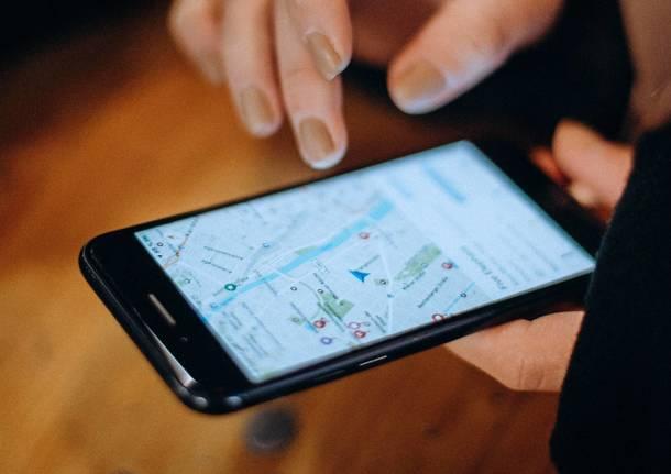 smartphone navigatore