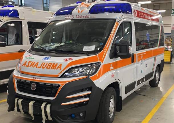 sos malnate ambulanza delta