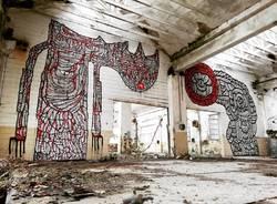 Street art all'ex Isotta Fraschini di Saronno