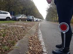 traffico malpensafiere tamponi polizia locale busto arsizio
