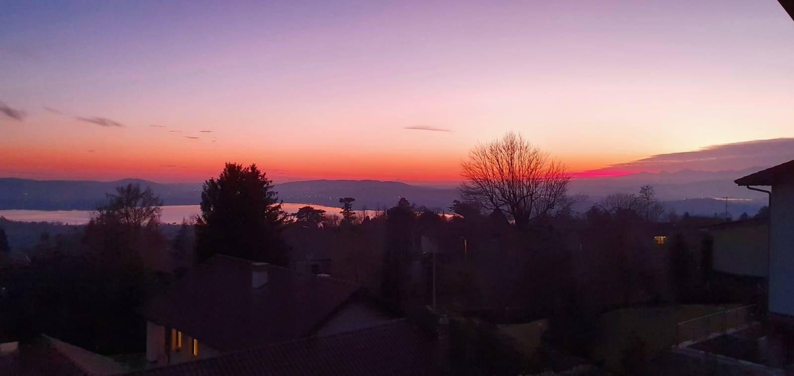 tramonto a barasso