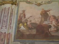 A Saronno gli alunni delle superiori a scuola di restauro nei cantieri in San Francesco