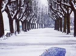 Angera e la neve