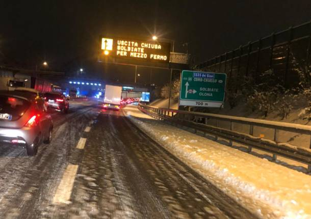 autostrada pedemontana neve