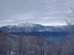 Le neve in Forcora