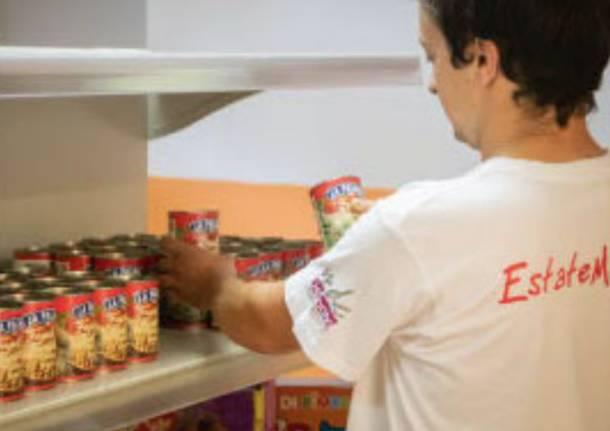 caritas raccolta alimentare busto arsizio castellanza marnate