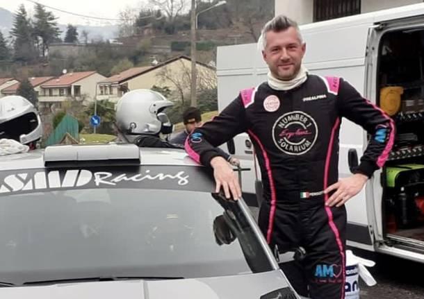Filippo Pensotti rally