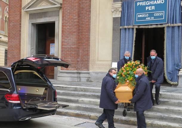 funerali Angelo Cozzi 10 dicembre 2020