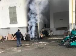 incendio albizzate