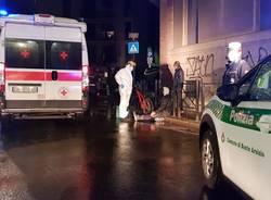 incidente ciclista busto arsizio polizia locale