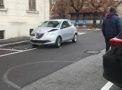 Incidente tra via Palermo e via Piuccini a Legnano