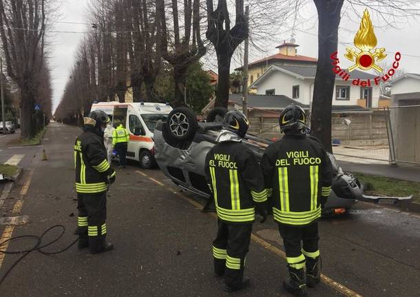 Incidente Tradate Natale