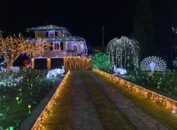 La casa illuminata del Signor Lino Betti a Leggiuno