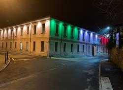 Limbiate, Villa Mella risplende di nuova luce: un tricolore illumina lo storico edificio