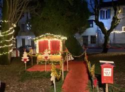 Luci e decorazioni di Natale a Mezzana e Lazzaretto