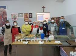 mensa dei poveri di Legnano Natale 2020