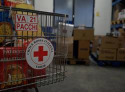 Nella sede della Croce Rossa di Varese