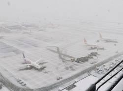 Neve 2020 a Malpensa