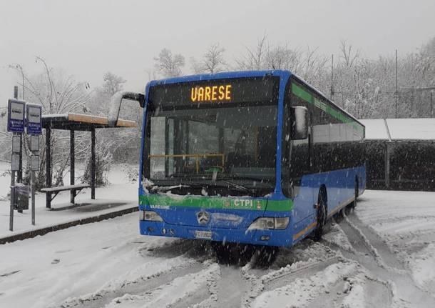 Neve 2020: servizio autobus e pullman