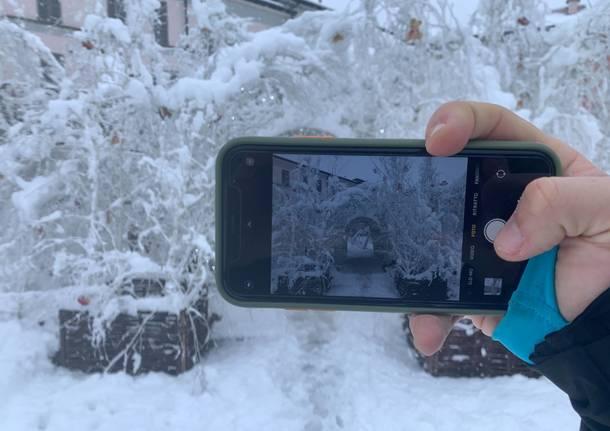 neve busto arsizio dicembre 2020