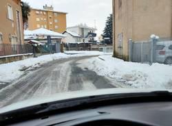 Neve e viabilità, la situazione a Saronno