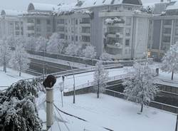 Nevicata 28 dicembre Legnano e Alto Milanese