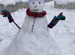 pupazzi di neve busto arsizio