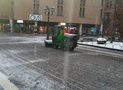 Saronno, attivato il piano neve