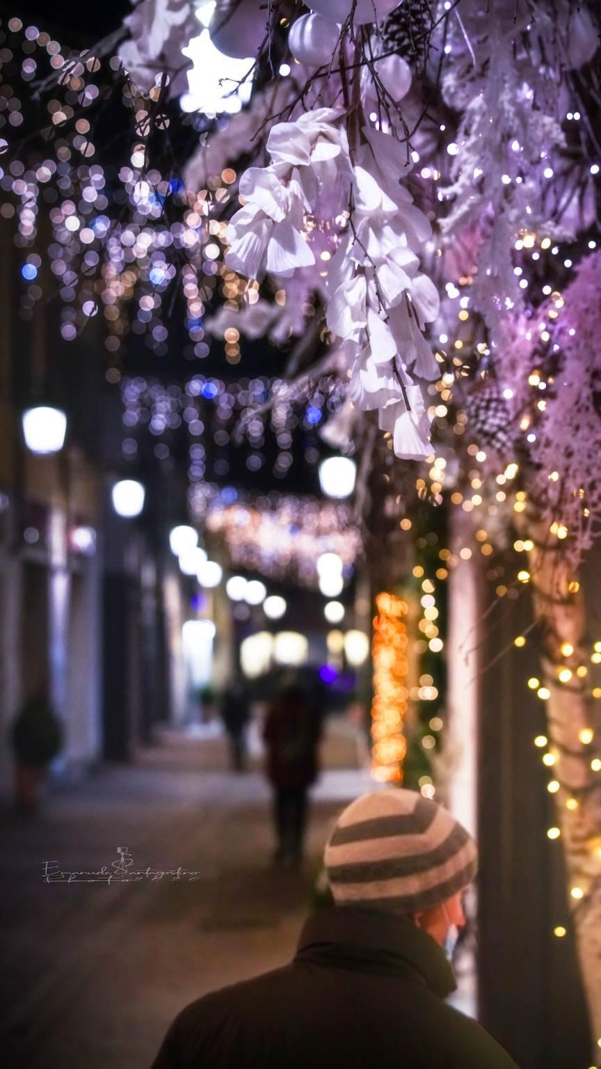 Saronno, la magia del Natale tra lucine e atmosfera di festa