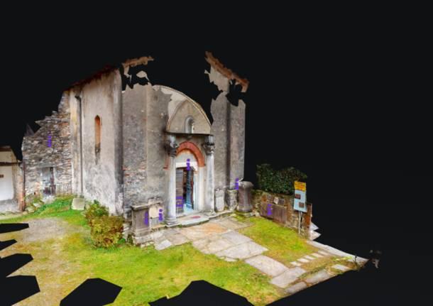 tour virtuale chiesa santi primo e feliciano leggiuno