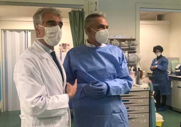 Vaccinazioni anti-Covid all'Ospedale di Legnano