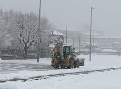Varese sotto la neve: 28 dicembre 2020