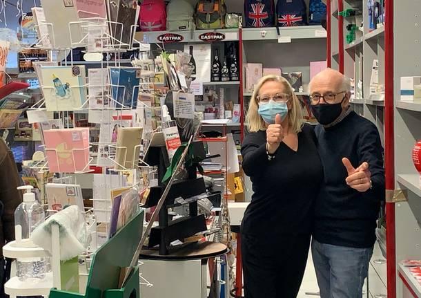 Vilma e Alessandro Milani cartoleria Milani