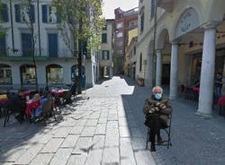 Bernie Sanders da Washington a Varese, con le muffole