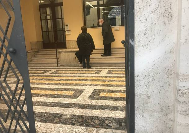 Commissariato di Legnano apertura ingresso principale