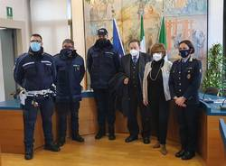 Consegna nuova auto alla Polizia Locale di Cerro Maggiore