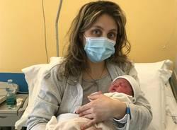 Evgenia, prima nata del 2021 all'Ospedale di Legnano