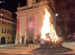 Falò di Sant'Antonio 2021 in diretta streaming