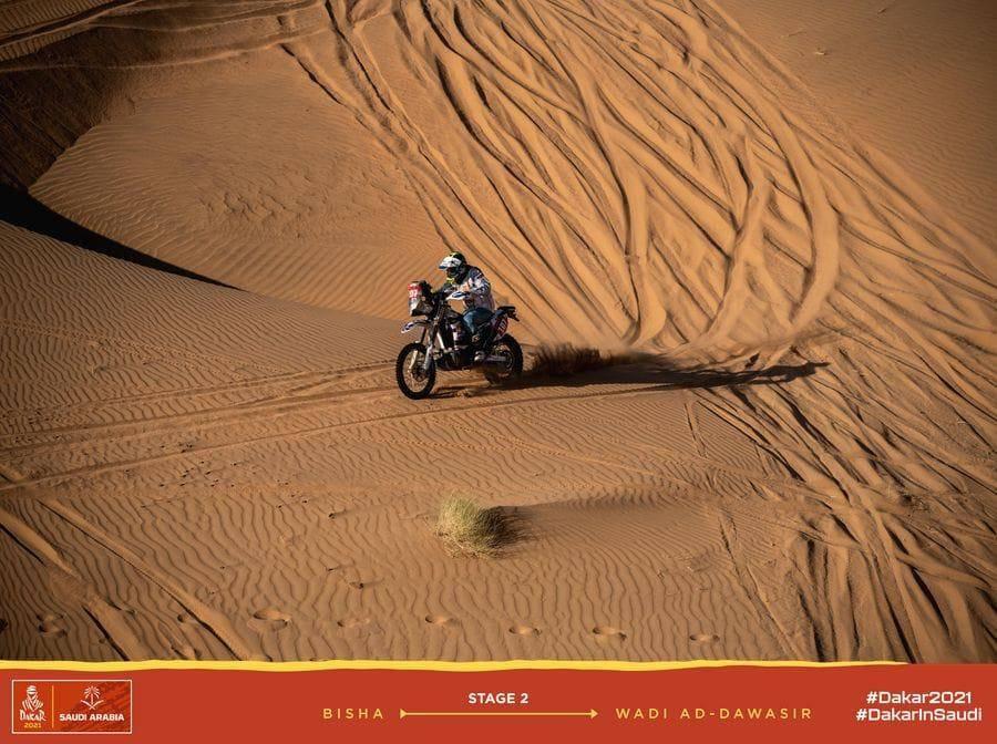 Gianni Stigliano alla Dakar 2021