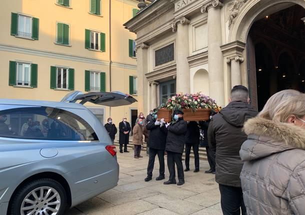 I funerali di Maria Corvi