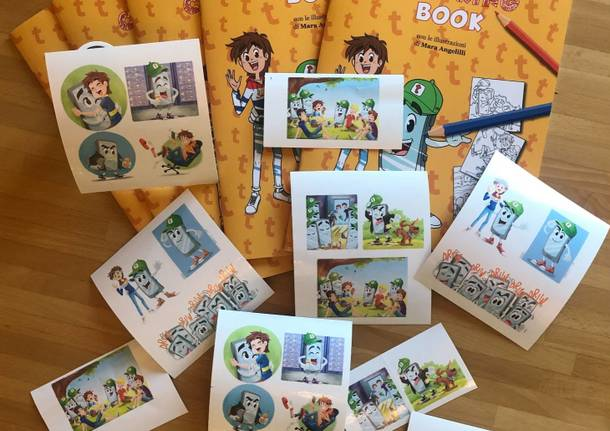 i racconti di tello libro da colorare