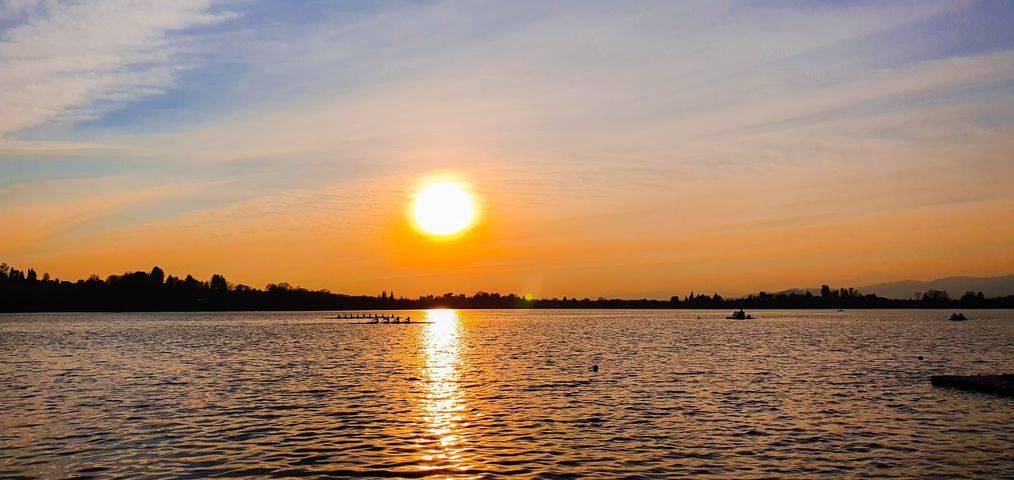 Il lago di Travedona Monate
