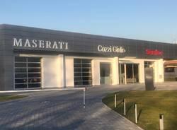 Il marchio Maserati alla Cozzi Giulio di Canegrate