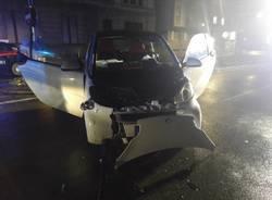Incidente piazza Carroccio Legnano 30 gennaio