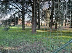 jogging al Parco Castello chiuso per manutenzione del verde