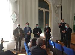 La consegna delle medaglie d'oro ai deportati della provincia di Varese