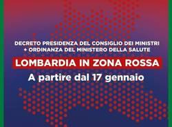 La Lombardia torna in zona rossa